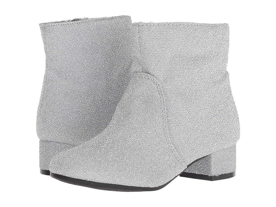 Nine West Kids Alexius (Little Kid/Big Kid) (Silver Sparkle) Girls Shoes