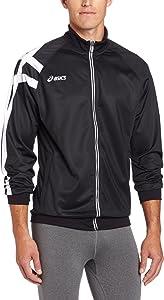ASICS Men's Team Tiger Jacket (Black)