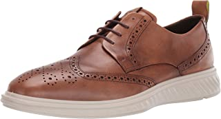 حذاء مسطح للرجال ST.1 Hybrid Lite Brogue Oxford من ECCO ، أصفر ، مقاس 43 M EU (9-9.5 US)