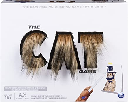 Spin Master Games The Cat Game Drawing Game for Teens and Adults