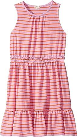 Shiny Stripe Peony/Coral