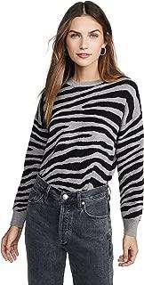 Women's Zebra Stripe Sweater