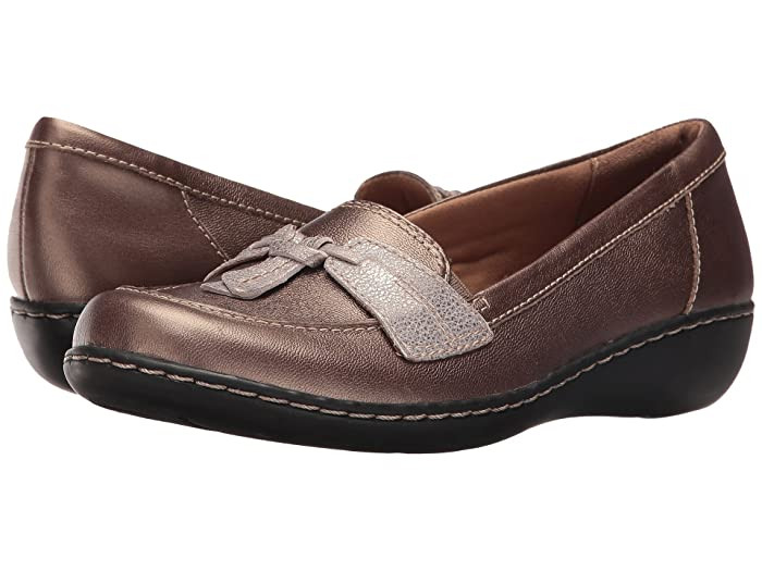Clarks  Ashland Bubble (Metallic Combo) Womens Slip on  Shoes