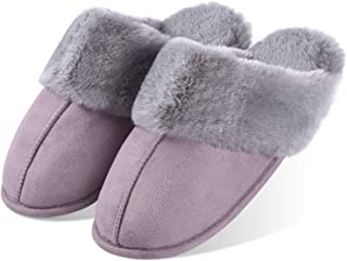 Yvelands Slipper Boots Women Casual Round Neck Cute Winter Snowflake Print Slip On Short Boots Home Cotton Slipper Soft Ladies Bedroom Slippers Shoes