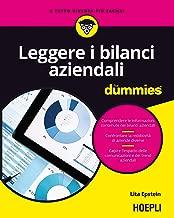 Leggere i bilanci aziendali for dummies (Italian Edition)
