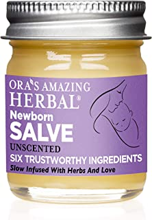 Newborn Salve for Baby, Natural Diaper Rash Cream, Baby Eczema Cream, Diaper Balm, Baby Ointment, Chemical Free Baby Care, Fragrance Free, Coconut Free Salve, Organic Calendula Ointment, Ora's Amazing