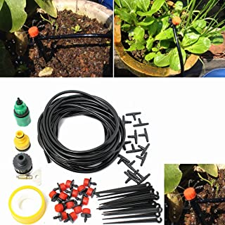 eoocvt Distribution Drip Irrigation System Kits for Garden Greenhouse Landscaping Plant Watering Drippers Sets Accessories + 10M Hose