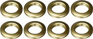 Dritz Home 44459 Round Curtain Grommets, 1-Inch, Antique Gold (8-Piece)