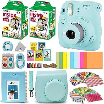 Fujifilm Instax Mini 9 Instant Camera ICE Blue + Fuji...