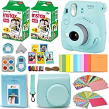 Fujifilm Instax Mini 9 Instant Camera ICE Blue + Fuji...