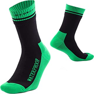 HydroSocks 100% Waterproof Socks Breathable Outdoor Socks Perfect for Sports Hiking Trekking Skiing Crew Fly Fishing Wading