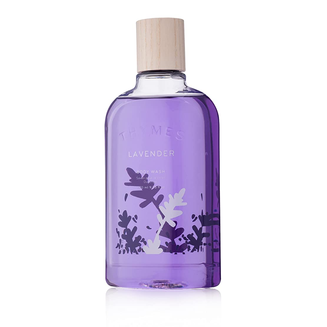 必須慣れている宅配便Thymes Lavender Body Wash 270ml/9.25oz