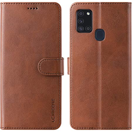 Funmax Case For Samsung Galaxy A21s Pu Leather Mobile Elektronik