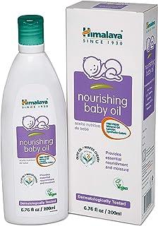 Himalaya تغذیه کننده روغن بچه، Lanolin Free & Mineral Oil Free 6.76oz / 200ml (2 Pack)