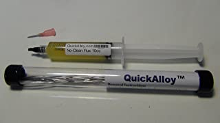 CyberDoc QuickAlloy SMD Desolder Removal kit, included 8 Alloy Low melting Temperature , and 10 cc ml SMD Gel Flux