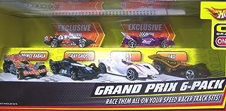 Hot Wheels Speed Racer Grand Prix 6 Pack 1:64 Diecast