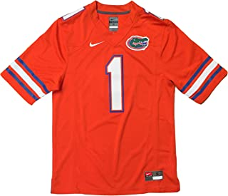 Nike Florida Gators No. 1 Stitched Limited Football Jersey UF Orange