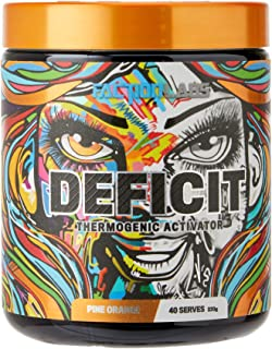 Faction Labs Deficit Thermogenic Activator Powder, 40 serves, Pine Orange, 320 grams
