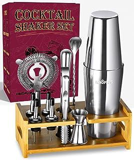 Cocktail Shaker, Cocktail Shaker Set, Bartender Kit, Shakers Bartending, Drink Shaker, INNÔPLUS Martini Shaker Gifts, Bost...