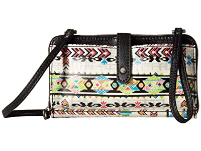 Sakroots Artist Circle Large Smartphone Crossbody (Optic Spirit Wanderer) Clutch Handbags