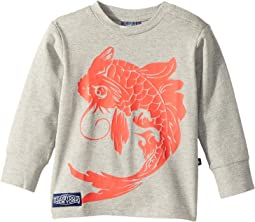 Toobydoo - Koi Fish Long Sleeve Tee (Infant/Toddler/Little Kids/Big Kids)