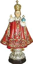 Ferrari & Arrighetti Infant Jesus of Prague Small Statue (12 cm) with Gift Box and Paper Bookmark in IT/EN/ES/FR