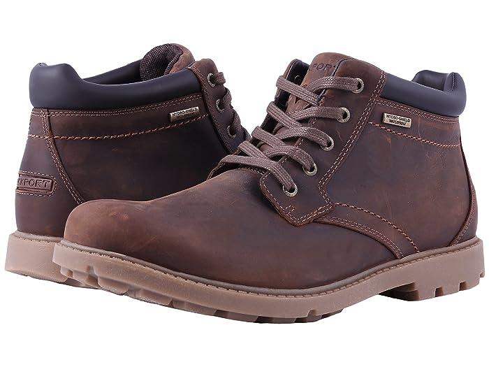 Rockport  Rugged Bucks Waterproof Boot (Boston Tan) Mens Boots