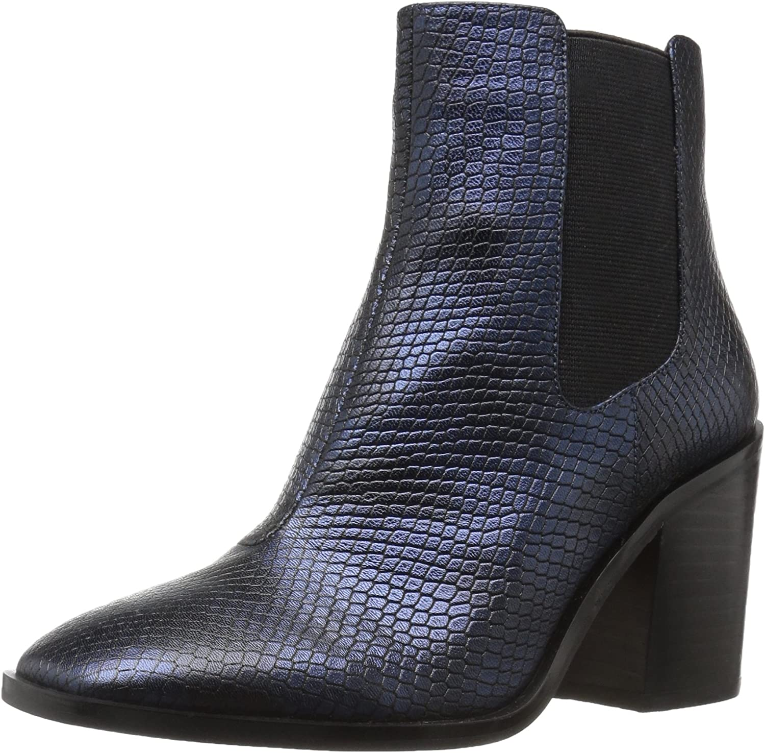 The Fix Womens Delany Block-Heel Chelsea Boot Ankle Bootie