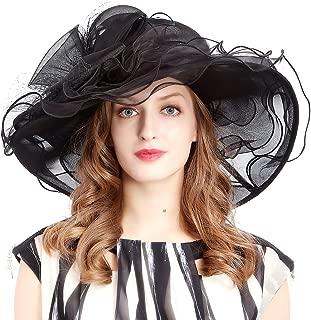 VECRY Women's Church Kentucky Derby Cap British Tea Party Wedding Hat