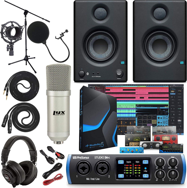PreSonus Studio 26c Department store 2x4 192 kHz USB All items in the store Interface St with Audio MIDI