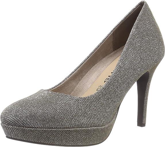 TALLA 40 EU. Tamaris 22414-21, Zapatos de Tacón Mujer