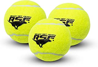 Franklin Pet Supply Ready Set Fetch Squeak Tennis Balls Dog Toy Squeaks When Squeezed - 3 Pack - for Small -Medium- Large ...