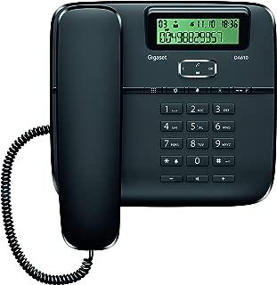 Gigaset DA610 Telefono Fisso, Vivavoce, Nero [Italia]
