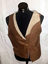 CLINT EASTWOOD THE GOOD BAD AND UGLY SPAGHETTI WESTERN FAUX SHEEPSKIN VEST SIZE MEDIUM M LARGE L EXTRA LARGE XL