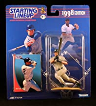 Starting Lineup Derek Jeter / New York Yankees 1998 MLB Action Figure & Exclusive Collector Trading Card