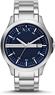 Armani Exchange Dress Watch For Men Analog Stainless Steel