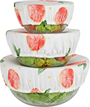 Jomeech Reusable Bowl Covers - Set of 3 (Peach)