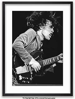 Posters UK AC/DC - Reading Rock Fest '76 - WHITE MOUNT & FRAMED POSTER