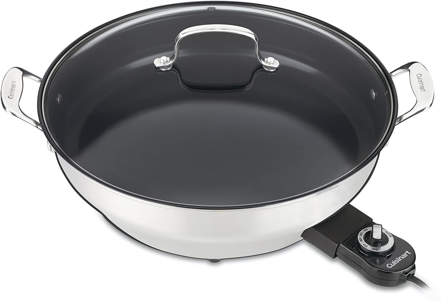 Cuisinart CSK-250WS Indefinitely GreenGourmet 14-Inch Nonstick Skill 5 popular Electric