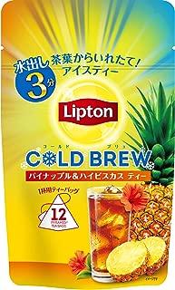 リプトン コールドブリュー パイナップル&ハイビスカスティー ティーバッグ 12袋×3袋