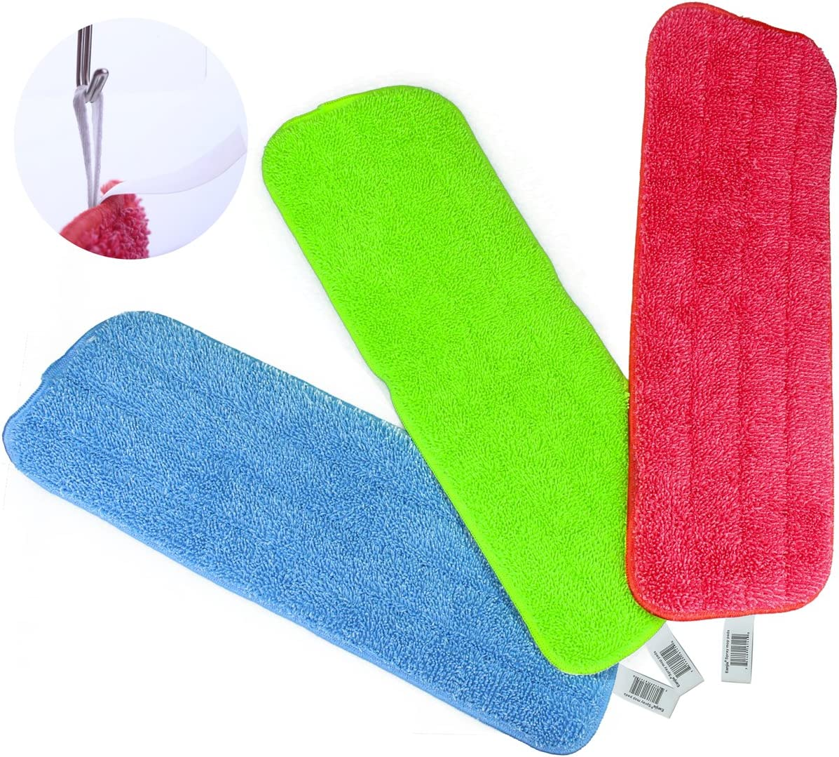 Reveal Mop Max 66% OFF Jacksonville Mall Cleaning Pad Fit Mops Washabl Spray All