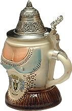 Beer Steins by King - Bavarian Woman's Top German Beer Stein (Beer Mug) 0.25l