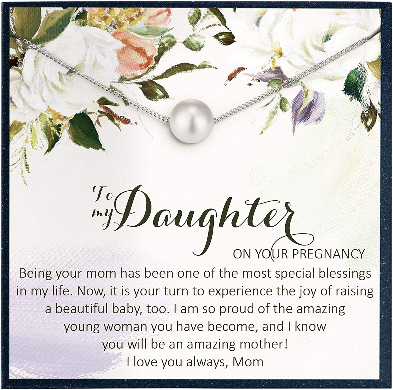 Grace of Pearl Mom to be Gift for New Mom Gift for Pregnancy Gif