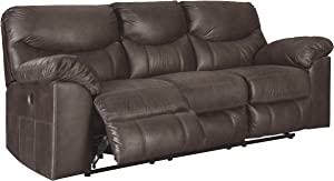 Boxberg Contemporary Faux Leather Reclining Power Sofa