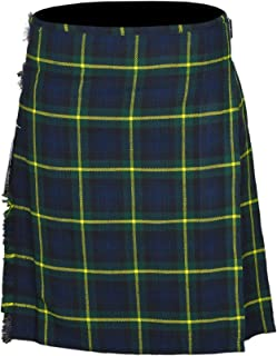 Men's 5 Yard Scottish Tartan Kilt, Highland Wedding Kilt