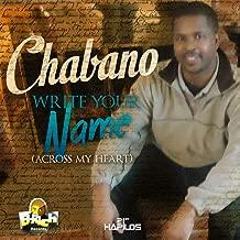 Write Your Name Across My Heart - Single