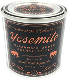 Good And Well Supply Co., Candle National Park Half Pint Yosemite, 8 Ounce