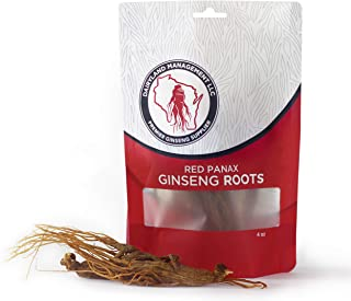 Authentic Panax Ginseng Roots! 6 yr. Old Premium Korean Ginseng (4oz)