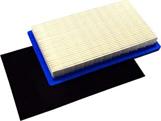 HQRP Air Filter with Pre-Filter Compatible with Kawasaki 11013-7017 11013-7016 11013-7034 Works with Kawasaki FH381V FH430V FH491V Series Engines Plus UV Meter