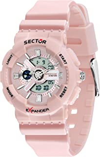 SECTOR Women's R3251515501 Year-Round Analog Quartz Pink Watch